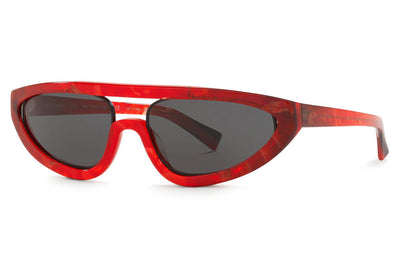 Alain Mikli - Fiare (A05047) Sunglasses Red Smoke