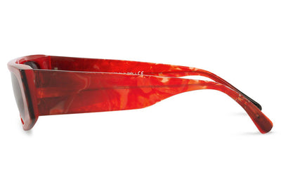 Alain Mikli - N°863 (A05050) Sunglasses Red Smoke