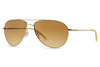 Oliver Peoples - Benedict (OV1002S) Sunglasses Gold with Gradient Brown Lenses
