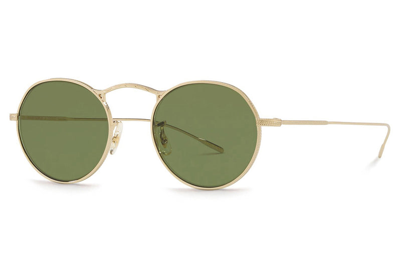 Oliver Peoples - M-4 30th (OV1220S) Sunglasses Gold with Green C Lenses