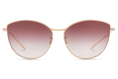 Oliver Peoples - Rayette (OV1232S) Sunglasses Rose Gold with Gradient Violet Lenses