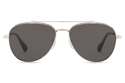 Oliver Peoples - Rikson (OV1266ST) Sunglasses Silver with Grey Lenses