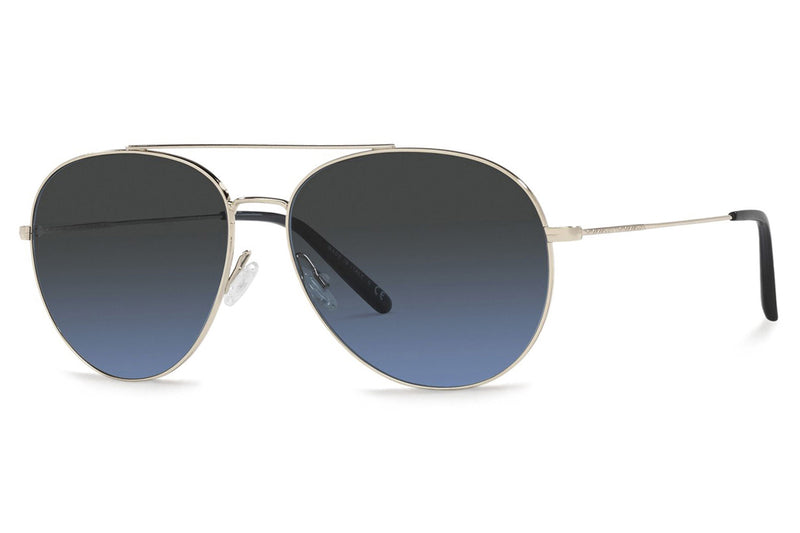 Oliver Peoples - Airdale (OV1286S) Sunglasses Soft Gold - Dark Azure Gradient Polar