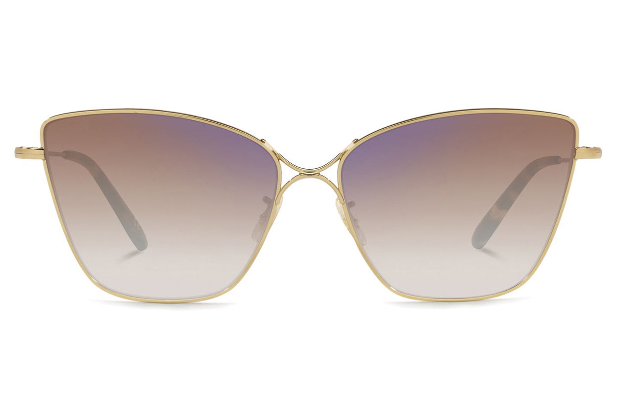 Oliver Peoples - Marlyse (OV1288S) Sunglasses Gold with Soft Tan Gradient Mirror Lenses