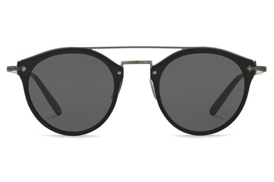 Oliver Peoples - Remick (OV5349S) Sunglasses Semi-Matte Black-Antique Pewter with Dark Grey Lenses
