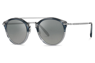 Oliver Peoples - Remick (OV5349S) Sunglasses Dusk Blue VSB/Silver - Dark Grey Gradient Mirror
