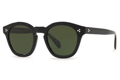 Oliver Peoples - Boudreau L.A (OV5382SU) Sunglasses Black with Dark Green Lenses