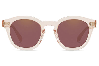 Oliver Peoples - Boudreau L.A (OV5382SU) Sunglasses Light Silk with Dark Violet Mirror Gold Lenses