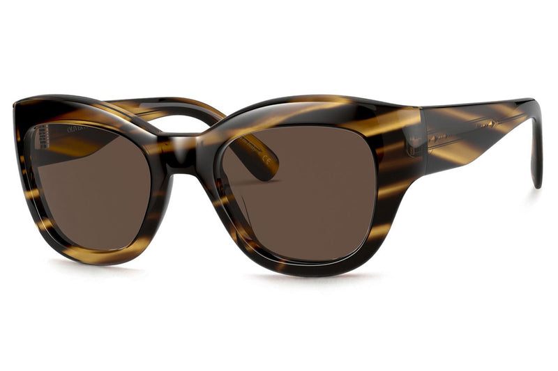 Oliver Peoples - Lalit (OV5430SU) Sunglasses Cocobolo with Brown Lenses