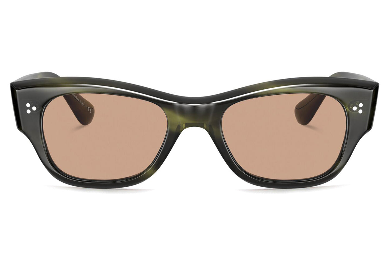 Oliver Peoples - Stanfield Tailored Fit (OV5435D) Sunglasses Emerald Bark