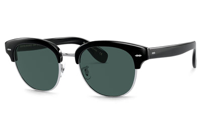 Oliver Peoples - Cary Grant 2 (OV5436S) Sunglasses Black with Blue Polar Lenses