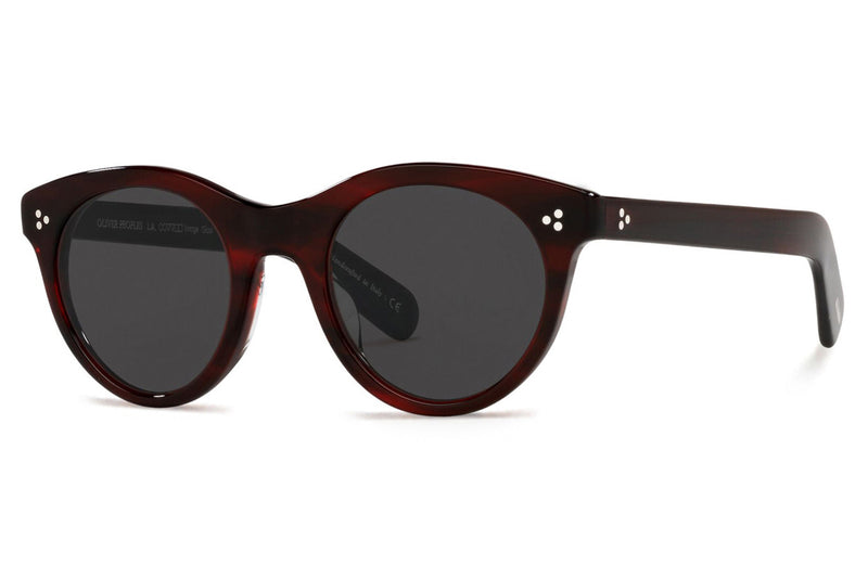 Oliver Peoples - Merrivale (OV5451SU) Sunglasses Bordeaux Bark - Carbon Grey