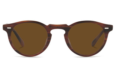 Oliver Peoples - Gregory Peck 1962 (OV5456SU) Sunglasses Amaretto/Striped Honey - True Brown Polar