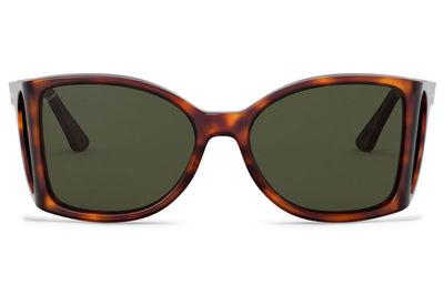 Persol - PO0005 Sunglasses Havana with Green Lenses (24/31)