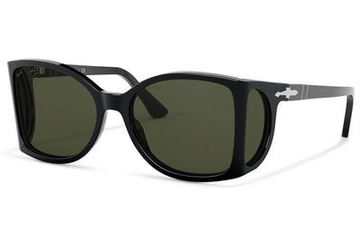 Persol - PO0005 Sunglasses Black with Green Lenses (95/21)