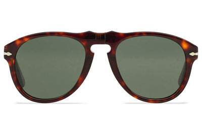 Persol - PO0649 Sunglasses Havana with Green Lenses (24/31)