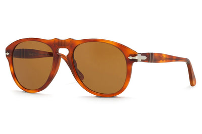 Persol - PO0649 Sunglasses Light Havana with Brown Lenses (96/33)