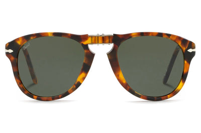 Persol - PO0714 Folding Sunglasses Madreterra with Green Lenses (105231)