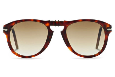 Persol - PO0714 Folding Sunglasses Havana with Brown Gradient Lenses (24/51)