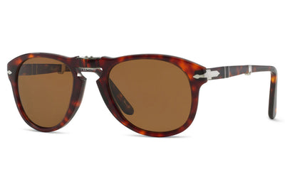 Persol - PO0714 Folding Sunglasses Havana with Brown Polar Lenses (24/57)