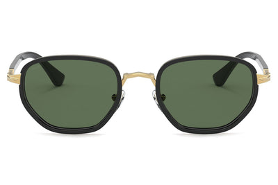 Persol - PO2471S Sunglasses Black with Green Polar Lenses (109758)