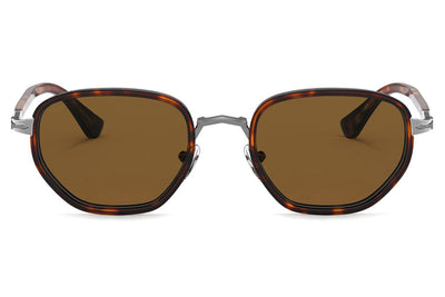 Persol - PO2471S Sunglasses Havana with Green Polar Lenses ( (513/57)