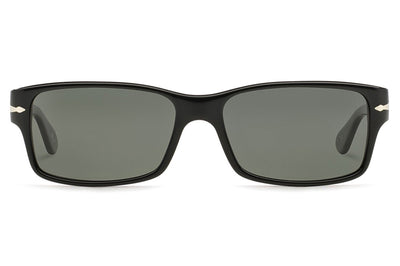 Persol - PO2803S Sunglasses Black with Polar Green Lenses 95/58