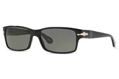 Persol - PO2803S Sunglasses Black with Green Polar Lenses (95/48)