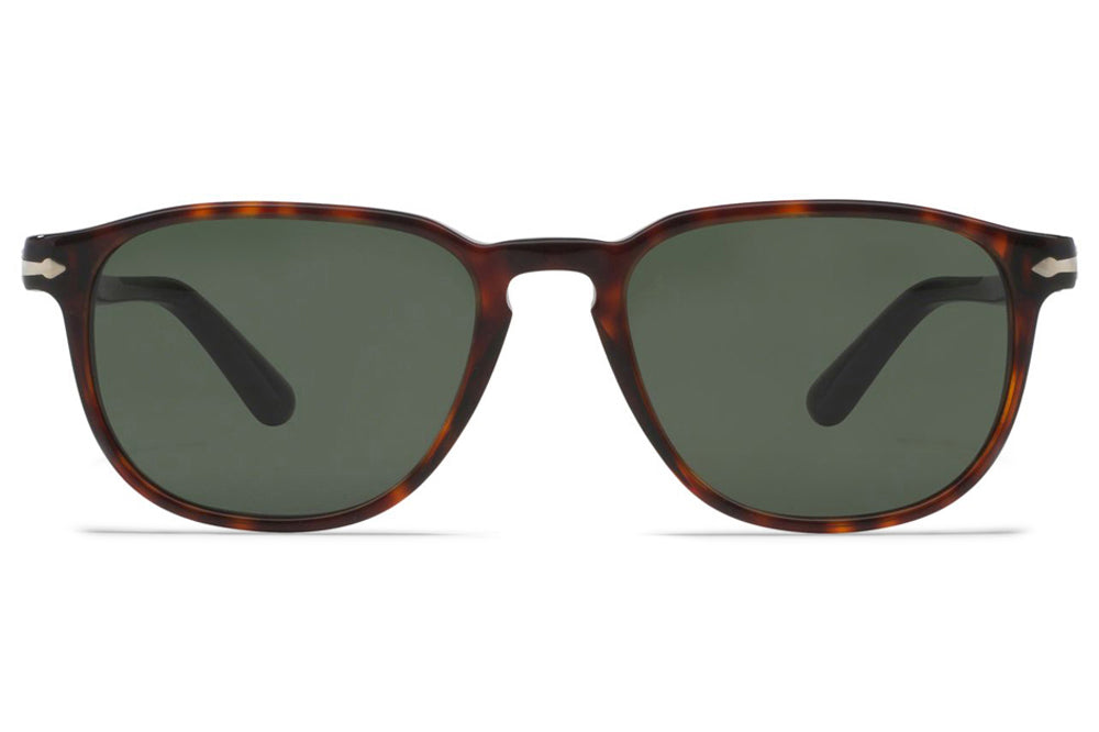 Persol - PO3019S Sunglasses Havana with Green Lenses (24/31)