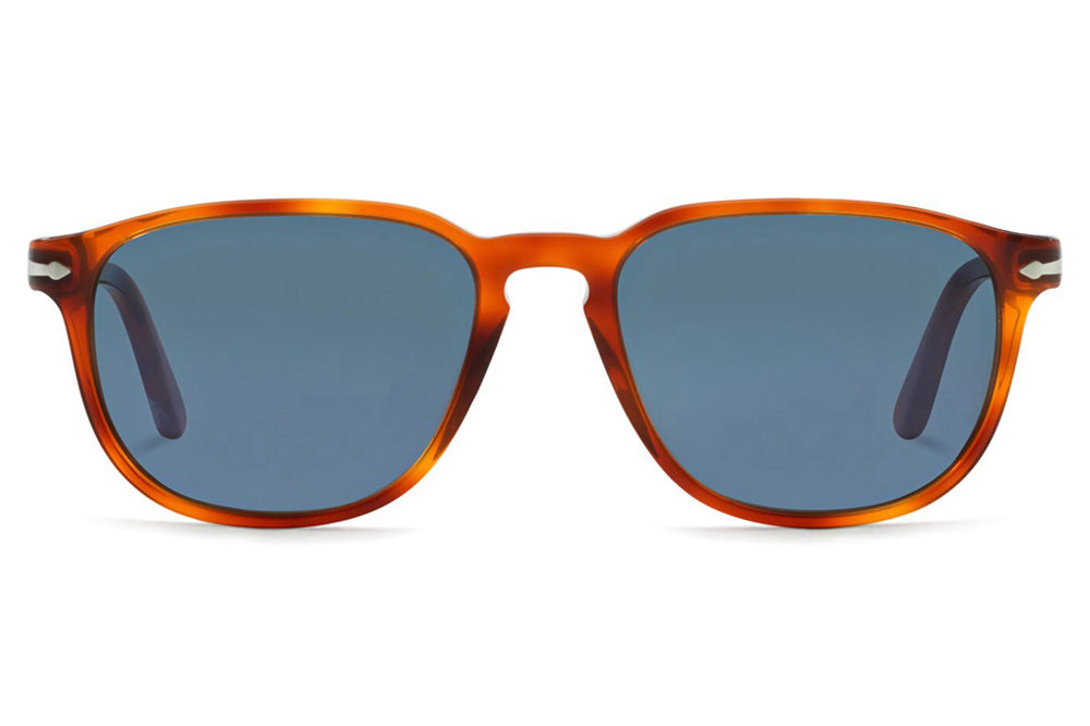 Persol - PO3019S Sunglasses Terra Di Siena with Light Blue Lenses (96/56)