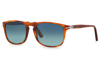 Persol - PO3059S Sunglasses Terra Di Siena with Polar Gradient Blue Lenses (96/S3)