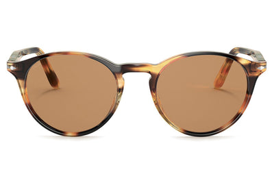 Persol - PO3092SM Sunglasses Striped Honey (112353)