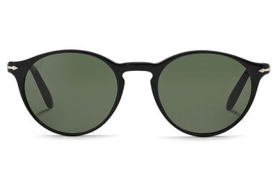 Persol - PO3092SM Sunglasses Black with Green Lenses (901431)