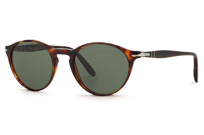 Persol - PO3092SM Sunglasses Havana with Green Lenses (901531)