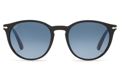 Persol - PO3152S Sunglasses Black with Light Blue Lenses (9014Q8)