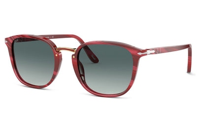 Persol - PO3186S Sunglasses Horn Red with Gradient Grey Lenses (111271)
