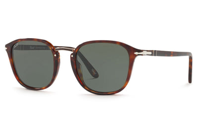 Persol - PO3186S Sunglasses Havana with Green Lenses (24/31)