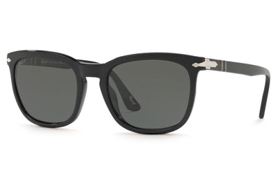 Persol - PO3193S Sunglasses Black with Green Polar Lenses (95/58)