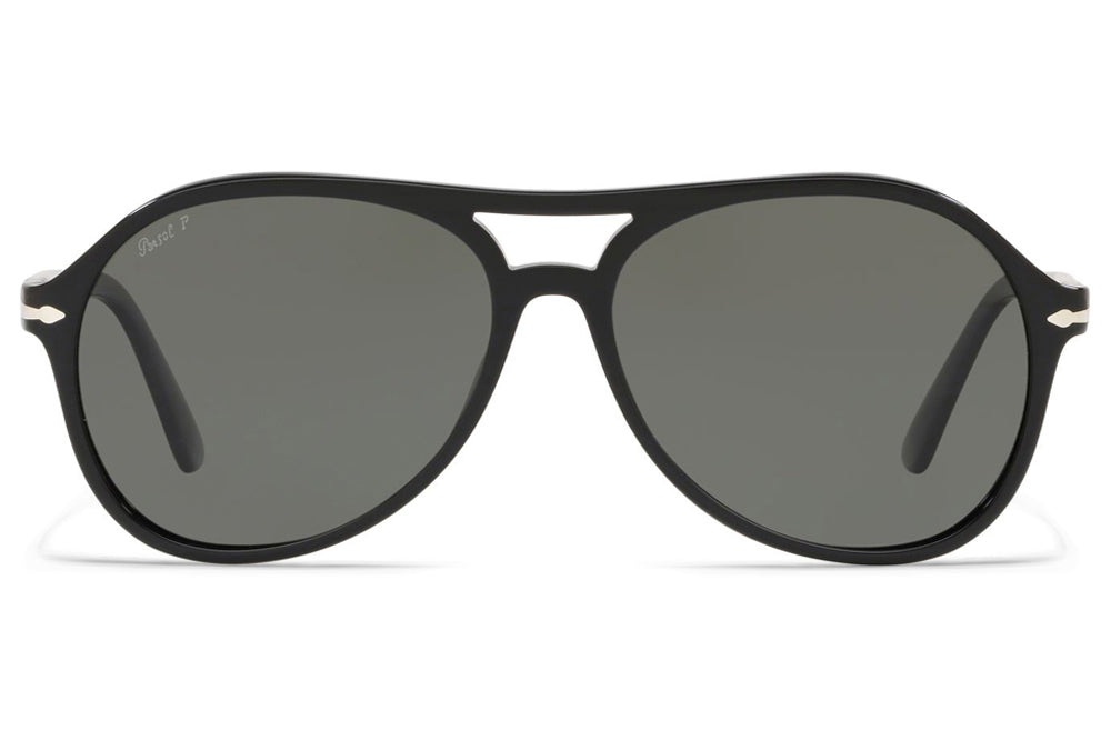 Persol - PO3194S Sunglasses Black with Polar Grey Lenses (104158)