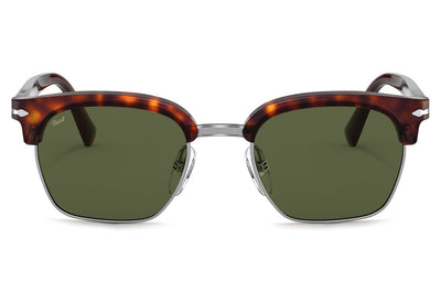 PERSOL TAILORING EDITION TORT BROWN CRYSTAL GREEN SUNGLASSES PO3199S 108152 NEW