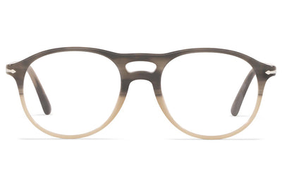 Persol - PO3202V Eyeglasses Striped Grey Gradient Beige (1065)