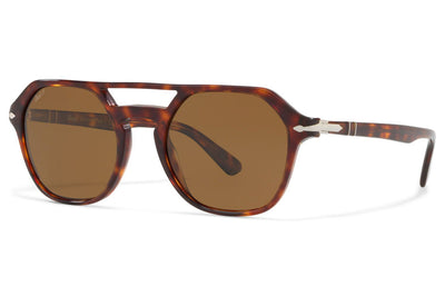 Persol - PO3206S Sunglasses Havana with Green Lenses (24/31)