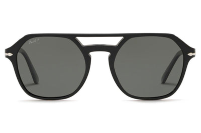 Persol - PO3206S Sunglasses Black with Grey Polar Lenses (95/58)