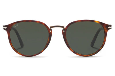 Persol - PO3210S Sunglasses Havana with Green Lenses (24/31)