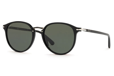 Persol - PO3210S Sunglasses Black with Green Lenses (95/31)