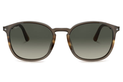 Persol - PO3215S Sunglasses Black/Striped Grey (113571)
