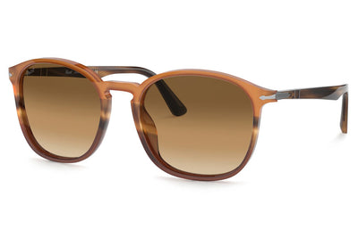 Persol - PO3215S Sunglasses Black/Striped Brown (113651)