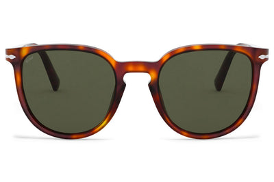Persol - PO3226S Sunglasses Havana with Green Lenses (24/31)