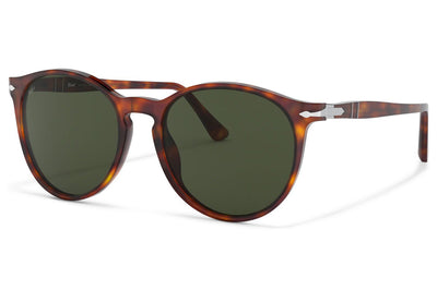 Persol - PO3228S Sunglasses Havana with Green Lenses (24/31)