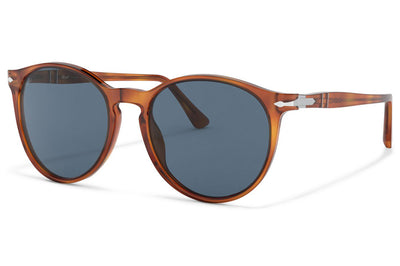 Persol - PO3228S Sunglasses Terra Di Siena with Blue Lenses (96/56)
